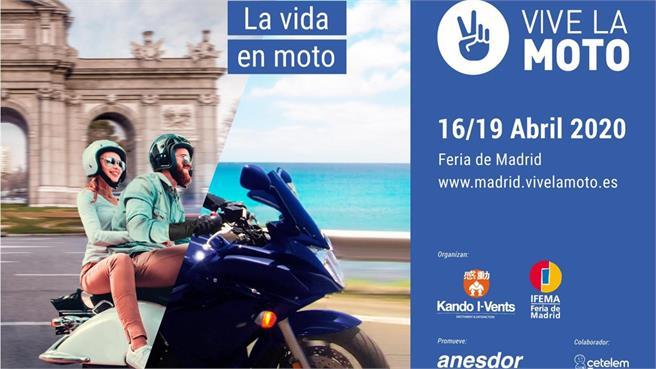 Salón Vive La Moto de Madrid 2020 cancelado