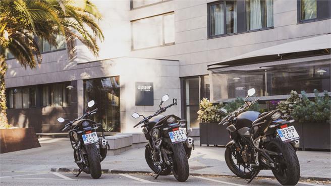 Carné, carnet de moto en España
