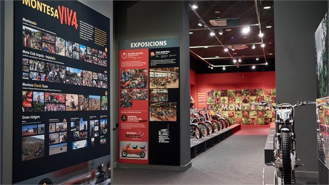"""Exposición 75º Aniversario Montesa """"Montesa, la forja de un mito"""""""