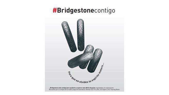 Campaña #Bridgestonecontigo para el egreso a la normalidad