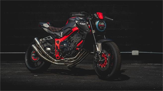Concurso de customización de Honda con CB650R