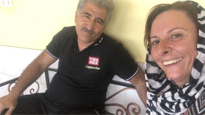 Elsi Rider vive la experiencia de llegar hasta Emiratos Arabes