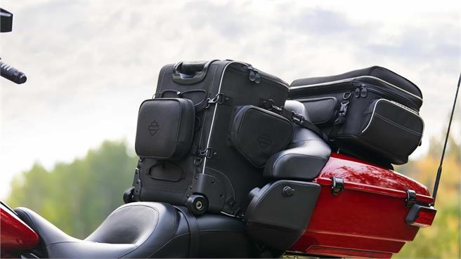 Maletas ONYX de Harley-Davidson: Para cada necesidad