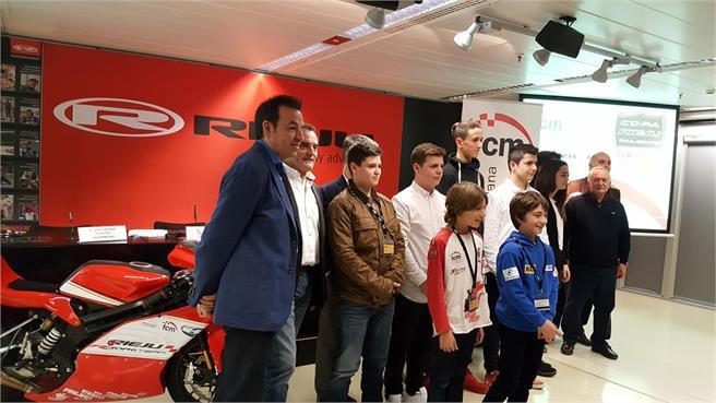 FCM con Rieju: promoción de pilotos