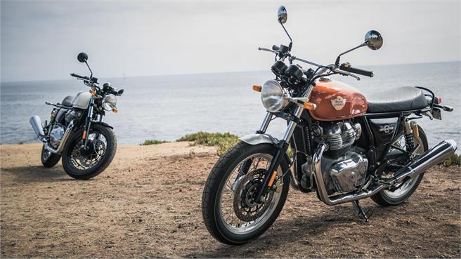 Royal Enfield Interceptor/Continental GT