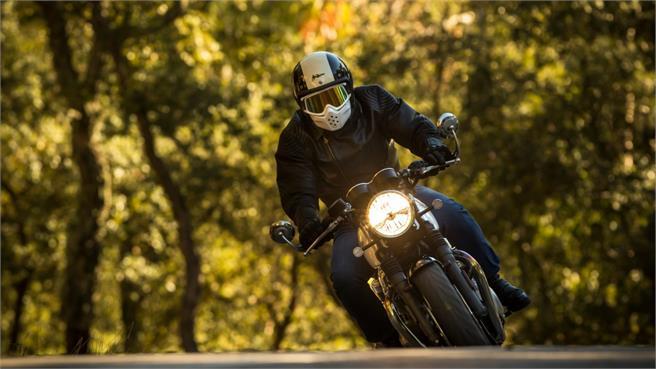 Triumph Thruxton: Cafe Racer mítica