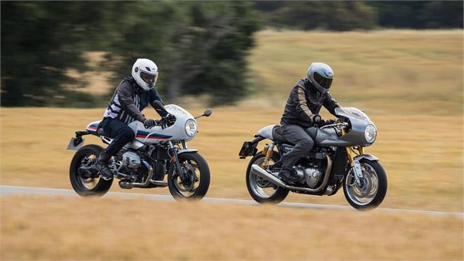 BMW R nineT Racer vs Triumph Thruxton R