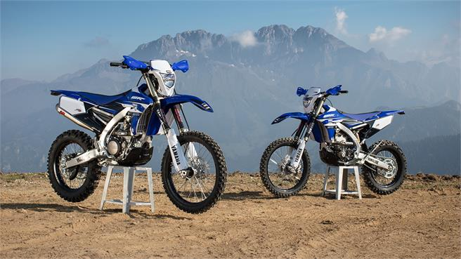 Yamaha WR450F y WR250F Enduro GP