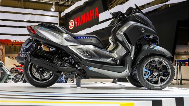 Yamaha 3CT Prototype: 300 cc y 3 ruedas