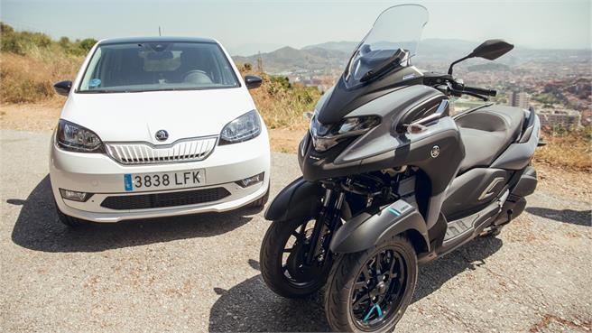 Prueba a fondo Yamaha Tricity 300 2020