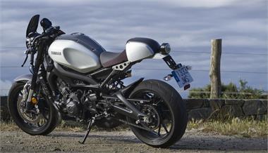 Yamaha XSR 900: Con todos los extras el mundo