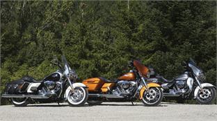 Harley Davidson Touring 2014: proyecto Rushmore