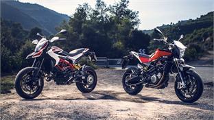 Ducati Hypermotard SP vs Husqvarna Nuda 900 R