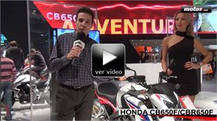 Vídeo: Honda CB650 F / CBR 650 F