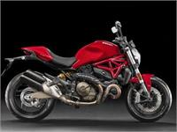 Ficha DUCATI Monster 821 Stripe